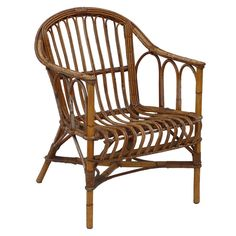 Charming 19th Century French Bamboo Arm Chair Info@lebarn.com