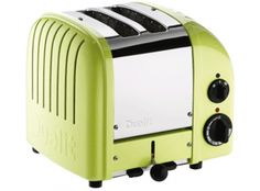 Dualit Classic Vario AWS Lime Green 2 Slot Toaster
