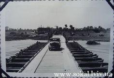 Інтернет портал  'Сокаль і Сокальщина',  м.Сокаль, , Кладка через Буг зі сторони Забужжя, зроблена німцями