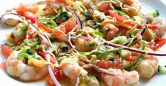 Hoy queremos Salpicón de #Langostinos, #exquisito ¿te apuntas? #receta #aurelio #congelados