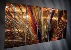 WOW! extreme blaze metal wall art sculpture