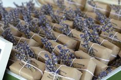 South of Frane soap favors