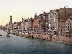 Dovenfleeth, Hamburg, Germany between 1890 and 1900