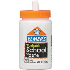 This was our glue stick! I loved tasting my paste! Yuck! I know! This sure did last longer than stinking glue sticks!