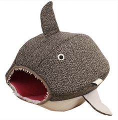 Pet Shark Nest Dog Cat Kennel Detachable Hairstyle Puppy Cat House Four Seasons Cat Sleeping Bag Teddy Kennel Pet Bed * Want additional info? Click on the image. (This is an affiliate link and I receive a commission for the sales)