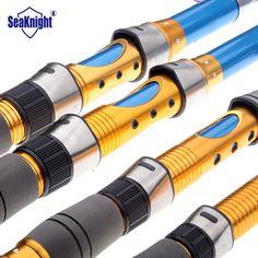 SeaKnight High Carbon Telescopic Fishing Rod Spinning Pole