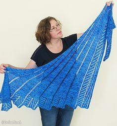 Dreamcatcher shawl