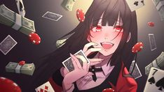 HD wallpaper: Anime, Kakegurui, Yumeko Jabami