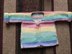 Penny Procrastinate: Make a newborn baby cardigan for summer.