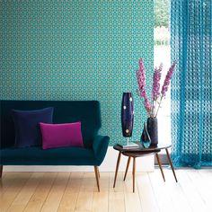 Products   Harlequin - Designer Fabrics and Wallpapers   Trellis (HMOT110381)   Momentum Wallcoverings Volume 2