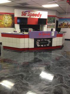 Decorative Concrete Epoxy Coating -  Lafayette LA.  Repin & Click For More Info or Quote @ Your Home / Business.