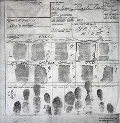 Watson's Fingerprints | Charles Manson Family and Sharon Tate-Labianca Murders | Cielodrive.com