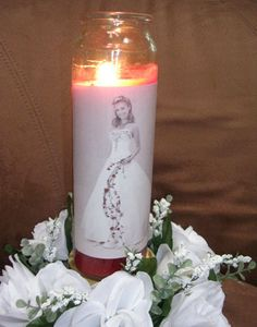 Candle Centerpieces | Quinceanera Ideas - Decorations for Quinceanera - Mis Quince Mag