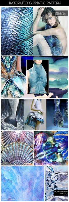 I love the aquatic look of these prints, and I love blues and purples!
