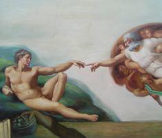 La Creación de Adán  Miguel Angel.