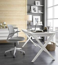 Crate & Barrel Spotlight Office Collection