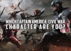 Which Captain America: Civil War Character Are You? Take the quiz! Civil War Characters, Captain America Civil War, Science Fiction, Marvel, Fantasy, Movie Posters, Sci Fi, Marvel Marvel, Imagination