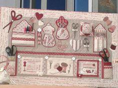 panel de costura