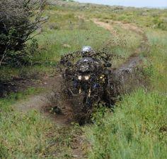 should have wheelied through... #Yamaha #SuperTenere getting muddy #adv