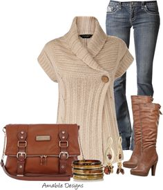 """Warm cozy cute"" by amabiledesigns on Polyvore"