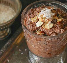 Where Your Treasure Is: Almond Joy , Chia Pudding. Don't use xylitol! Use sugar/coconut sugar.