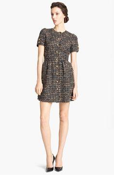 Tweed dress? Thanks dolce & gabbana
