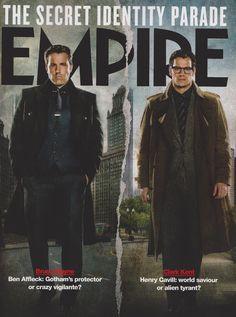 Batman v Superman: Dawn of Justice -- Bruce Wayne e Clark Kent (Still da Empire Magazine)