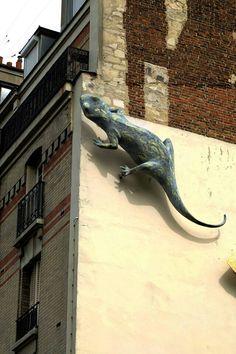 street art - Paris 20 - rue vitruve