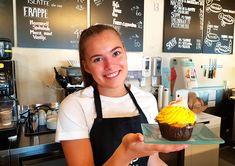 – Her var det trivelig ! Frappe, Muffins, Desserts, Tailgate Desserts, Deserts, Muffin, Dessert, Cupcake, Food Deserts