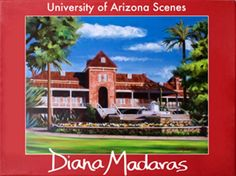 University of Arizona Notecard Set First University, University Of Arizona, Medical Center, Tucson, Note Cards, Envelopes, Fountain, Diana, Paintings