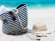 We are a month into Summer, if you haven't already it is time to re-evaluate the contents of your beach bag. Check out some prime summer beauty products! Destin Florida, Florida Beaches, Summer Beauty, Beauty Essentials, Bucket Bag, Bags, Erika, Breeze, Beauty Products