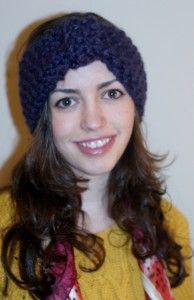 Knit Turban Headband Pattern