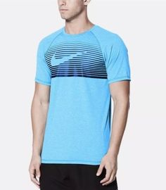 100/% AUTHENTIC MENS NIKE DRI-FIT ATHLETIC LONG SLEEVE CREW NECK TEE M  UPF 40+