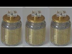 Pin on Mason jars Wine Bottle Crafts, Mason Jar Crafts, Mason Jar Diy, Bottle Art, Bottles And Jars, Glass Jars, Glass Containers, Flowers In Jars, Handmade Christmas Decorations