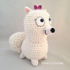Vida de Gidget el secreto de mascotas Crochet por Elisascrochet