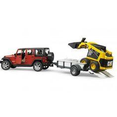 Jeep Wrangler U. Rubicon Ve Cat Yükleyici 02925