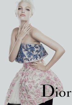 ❦ Daphne Groeneveld photographed by Steven Meisel for Dior Addict Beauty Spring/Summer 2013.