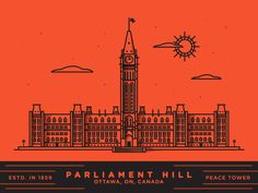 Parliament Hill by Nick Slater