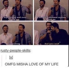OMG MISHA HAHAHAHA