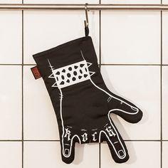 Topfhandschuh für Rocker, Rock'n'Roll / oven glove, rock on made by We love rock design via DaWanda.com