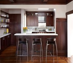 Modern Kitchen Bar Stools Online Cabinet Layout Tool 32 Best Images Chairs Stool Brown Wood Paneling Home Decorating Trends Homedit Contemporary Small Kitchenskitchen Stoolsnew
