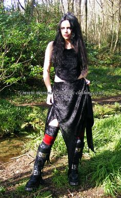 Moonmaiden Gothic Clothing - Witchy Skirt