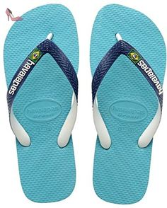 Havaianas Tongs Homme/Femme Brasil Mix Blue-EU :47/48-BR:45/46 - Chaussures havaianas (*Partner-Link)
