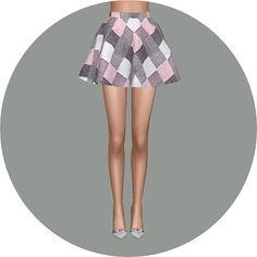 Flare skirt V2 check at Marigold • Sims 4 Updates