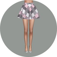 Flare skirt V2 check at Marigold • Sims 4 Updates