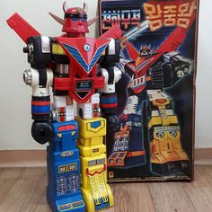 since1985 korea daejin company bootleg jumbo machinder king of the king (godsigma + taekwon V) first edition  #jumbomachinder #1985 #bootleg #korea #daejincompany #kingoftheking #godsigma #taewonv #popy #1985년 #대진사 #점보머신더 #왕중왕 #고드시그마 #태권브이#빈티지 #고전완구 #vintagetoys  #popy #vintage