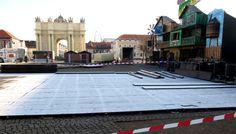 In Potsdam ist der Aufbau des Weihnachtsmarktes bereits in vollem Gang. Am Donnerstag, 22. November 2012, soll er schon eröffnet werden. Das trifft nicht nur auf Zustimmung. Im Gegenteil...