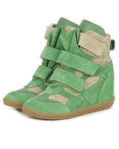 Wedges Katia Mint. sneaker