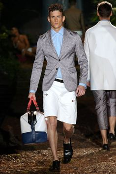 Dsquared² Spring 2014 Menswear Collection Slideshow on Style.com