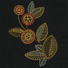 beautiful embroidered pattern